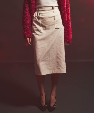 コールテンタイトスカート
