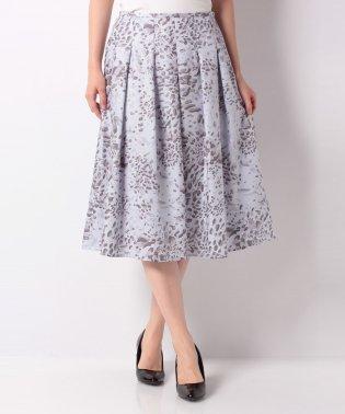 【セットアップ対応】ポリビエラアニマルプリント フレアスカート