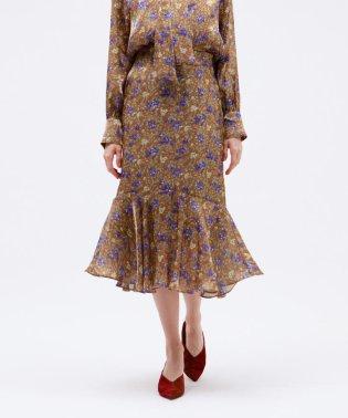 ◆◆プラチナサテン マーメイドスカート