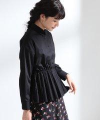 Ray BEAMS / プリーツ キリカエ レギュラーシャツ