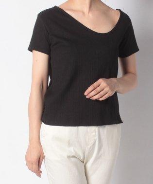 アシメネックTシャツ