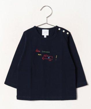 SCN1 L TS ベビー メッセージTシャツ