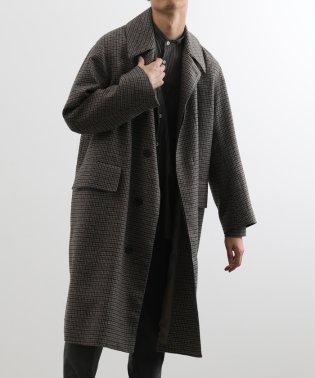 HYBRID TWEED コート