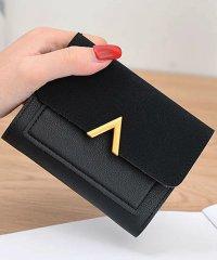 財布 レディース 三つ折り コンパクト 小さい カード収納 定期入れ おしゃれ