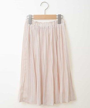 [140-150]ヴィンテージサテンプリーツスカート