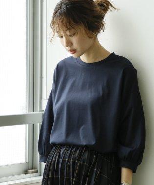 【WEB限定追加生産】コットンパフスリーブ7分袖カットソー