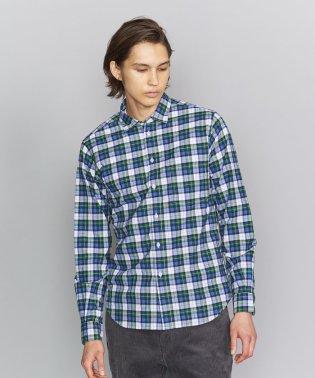 BY ブロード タータンチェック レギュラーカラーシャツ