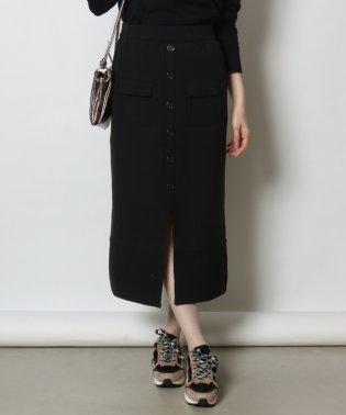 SCOTCLUB(スコットクラブ) フロントボタンニットスカート