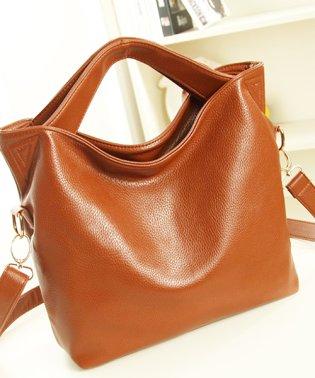2wayハンドバッグ韓国ファッションレディース肩掛け手持ちらくらく上品【vl-5216】