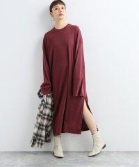 【CAN PEP REY/キャン ペプレイ】  LOOSE DRESS L/S PIACEIBA:ワンピース