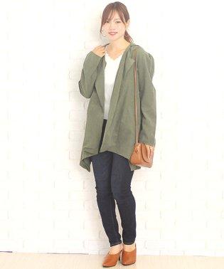 ふんわりジャケット韓国ファッションレディースシンプル上品秋用ポリエステル【vl-5202】【S/S】