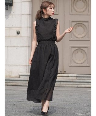 【セットアップ対応商品】ドットロングスカート