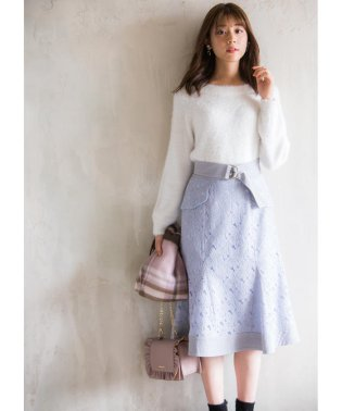 【美人百花11月号掲載】レースマーメイドスカート