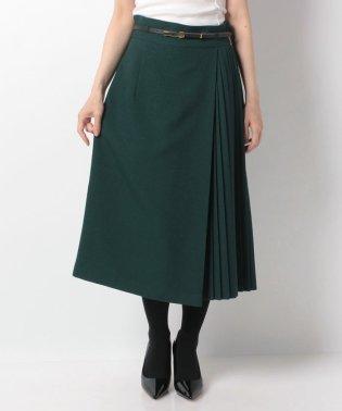 【DONEE YU】サイドプリーツAラインスカート