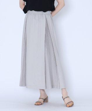 [MIREPOIX]タックプリーツスカート