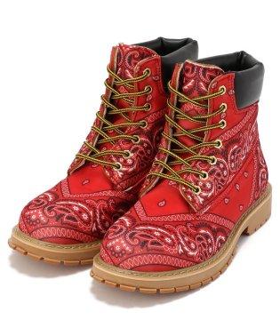 ROGIC×NOTFORSALE/ロジック×ノットフォーセール/PAISLEY BOOTS RED