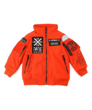 【キッズ】MA-1 モデファイ ハロ/MA-1 MOD HALO KIDS【Avirex Military Camp】