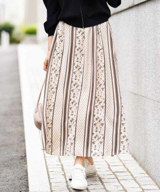 パターンプリントスカート