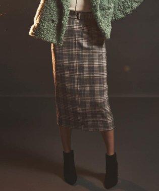 【BOUFUH】タイトストレートスカート