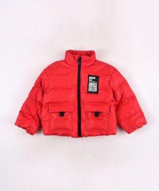 ポリエステルタフタシレ加工ビッグポケットジャケット