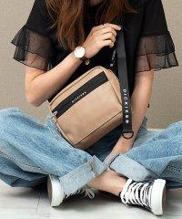 Dickies【ディッキーズ】DK SYNTHETIC LETHER BOX SHOLDER BAG / 合皮ボックスショルダーバッグ