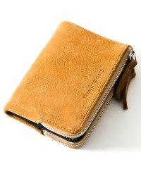 TransitGate G5 スエード ダブルジップ 二つ折り財布 ミニ ウォレット