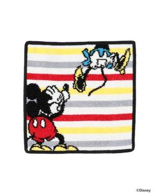 FEILER × BEAMS / 別注 ミッキーマウス ボーダー タオルハンカチ
