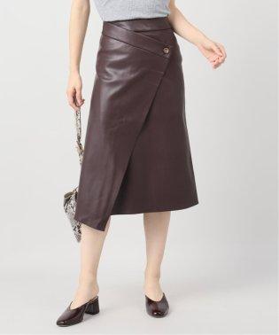 【AERON /アーロン】WRAP スカート