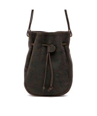 スロウ ショルダー SLOW ショルダーバッグ kudu クーズー draw string bag 巾着ショルダー 巾着バッグ 49S200I
