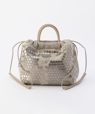【TEE LISA/ティーリサ】丸タイルミニ巾着バッグ