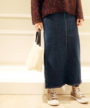 【SOMETHING/サムシング】デニムLONGスカート