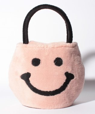 ファーハンドバッグ