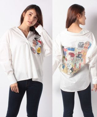 WOMAN WOVEN BLOUSE LONG SLEEVE