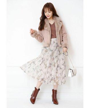 【美人百花11月号掲載】レースフラワースカートセット