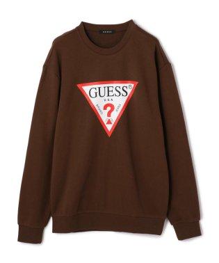 GUESS/ゲス/クルーネックスウェット