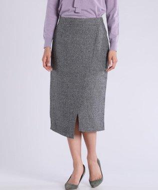 ツイードタックスリットスカート