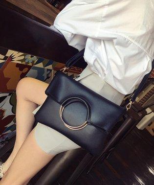 ショルダー&ハンドトートバッグ韓国ファッションレディース2way上品便利オシャレ【vl-5218】