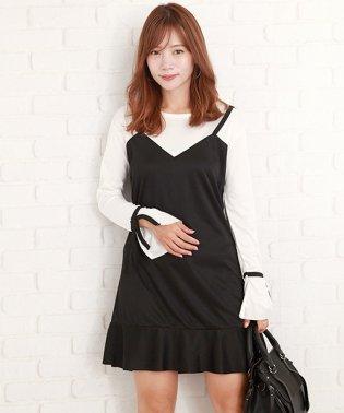 ミニスカートワンピース韓国ファッションレディースかわいいセクシースリムシンプル【vl-5270】【S/S】