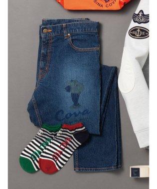 【大きいサイズ】シナコバ/SINA COVA ストレッチデニム5ポケットパンツ