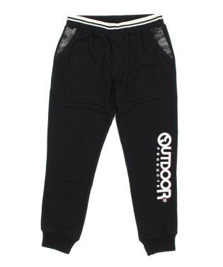 【大きいサイズ】アウトドアプロダクツ/OUTDOOR PRODUCTS ダンボール裾ロゴスウェットパンツ