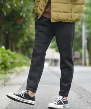 SC:【WEB限定】ストレッチ ジョガー フリース パンツ