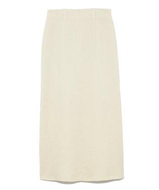 ボイルドウールナロースカート