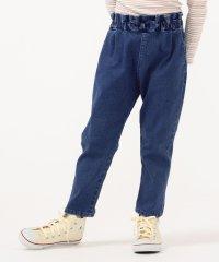 SHIPS KIDS:デニム タック パンツ(100~130cm)