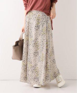 マルチフラワープリントスカート