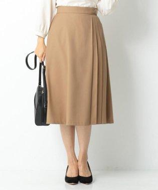 【洗える】サイドプリーツ スカート