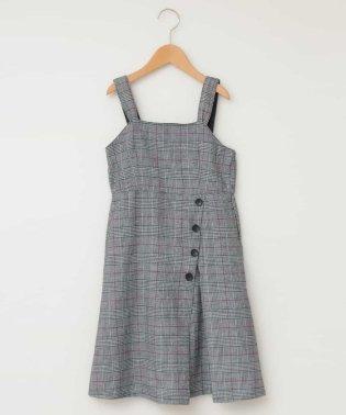 [100-130]クラシカルナロージャンパースカート[WEB限定サイズ]