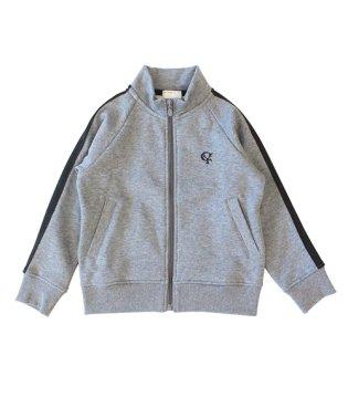 【セットアップ対応商品】裏起毛1-LINEトラックジャケット