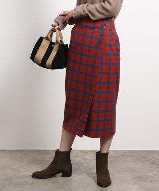 ストレッチツイルラップタイトスカート
