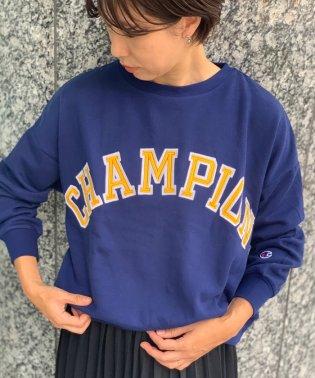 【Champion】ビッグロゴ裏毛プルオーバー