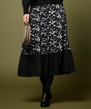 【セットアップ】City Lights Print スカート